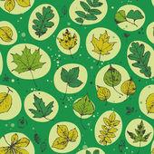 Patrón de bosque — Vector de stock