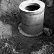 Concrete rings for water or draw-wells — Stock Photo #13185079