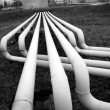 Fuel (oil) pipes — Stock Photo #13719055