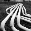 Fuel (oil) pipes — Stock Photo #13719140
