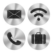 Communication group icons — Stock Photo