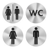 WC group icons — Stock Photo