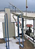 Wyposażenie stacji paliw — Zdjęcie stockowe