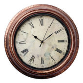 Clocks in Old style — Stock Photo