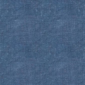 Blue linen seamless texture — Stock Photo