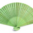Green spanish fan — Stock Photo #28483833