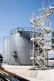 Industrial Storage Tanks — Stock Photo