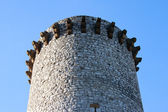 Ancient Fire tower in Sisteron, France — Stock Photo