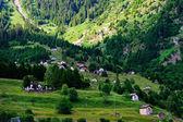 Beautiful view in Swiss Alps — Stock Photo