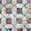 Ancient mosaic floors. texture closeup — Stock Photo