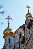 Detail of orthodoxy church — Stock Photo