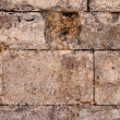 Texture of brown stone wall — Stock fotografie #38383627