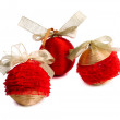 Red nice ball for Christmas tree — Stock Photo #41836481