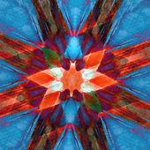 Kaleidoscope square — Stockfoto