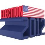 USA Presidential Election 2012 Icon — Stock Photo