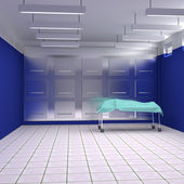 Morgue interior — Stock Photo