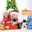Fighting for presents — Stock Photo