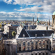 Royal palace in Amsterdam, Netherlands - Stock Photo