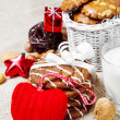 Royalty-Free Stock Photo: Christmas cookies and decoration