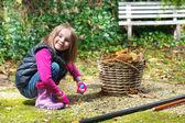 Preschool girl — Стоковое фото