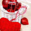 Woolen heart — Stock Photo #16167159