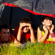 Stock Photo: In tourist tent