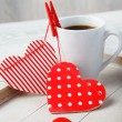 Coffee made with love — Stok Fotoğraf #17636171