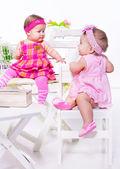 Baby friends — Stock Photo