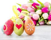 Easter eggs — Foto Stock