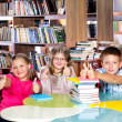 Royalty-Free Stock Photo: School library