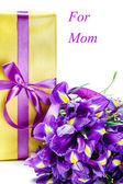 鲜花和礼物 — 图库照片