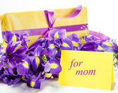 Greeting card for mom — Stock Photo