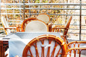 Open air terrace — Stock Photo