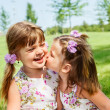 Stock Photo: Lovely sisters