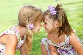 幼い姉妹 — ストック写真