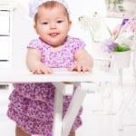 Adorable baby girl — Stock Photo #22350717