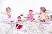Tea party — Foto Stock