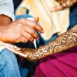 Henna decoration — Stock Photo