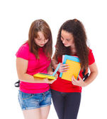 Middle school students — Stock Photo