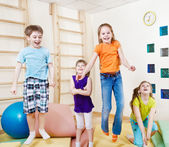 Excited children — Stock Photo