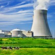 Stock Photo: Nuclear power station
