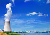 Doel Nuclear Power Station — Stock Photo