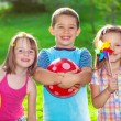 Kids in a summer park — Stock Photo #29699121