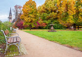 Park in Prague — Stock Photo