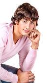 Beau mâle chez les adolescentes — Photo