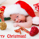 Santa helper — Stock Photo
