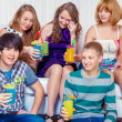 Teens party — Stock Photo