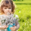 Meadow kid — Stock Photo