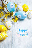 Easter decoration eggs — Stock Photo