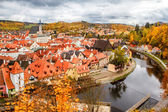 Historical center of Cesky Krumlov — Stock Photo
